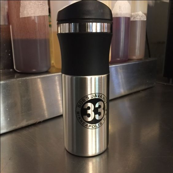 Stainless Steel Travel Mug - $8.50