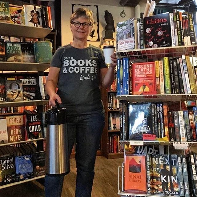 We are so happy to supply☕️ for the best mystery 📚 store in town! #shoplocal #bobsjavahut #onceuponacrime #uptowncoffee #mplscoffee #coffeelover  #booklover #coffeeadict