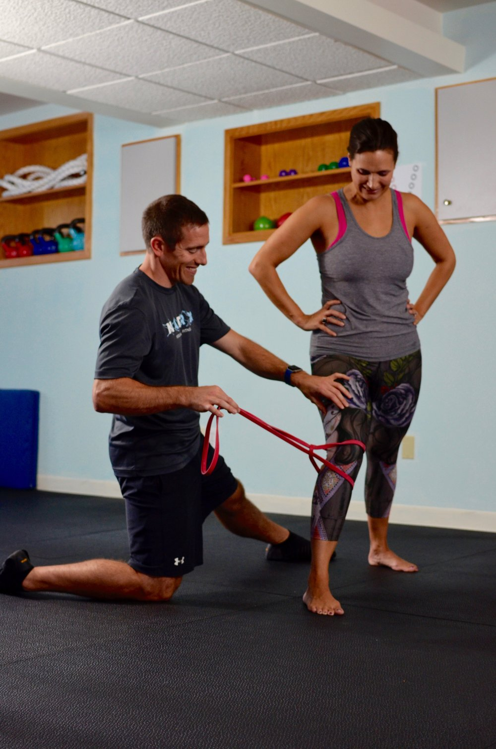 Matrix PErsonalized Fitness in East Greenwich, RI focuses on incorporating exercise, diet and nutrition for a whole body performance boost.