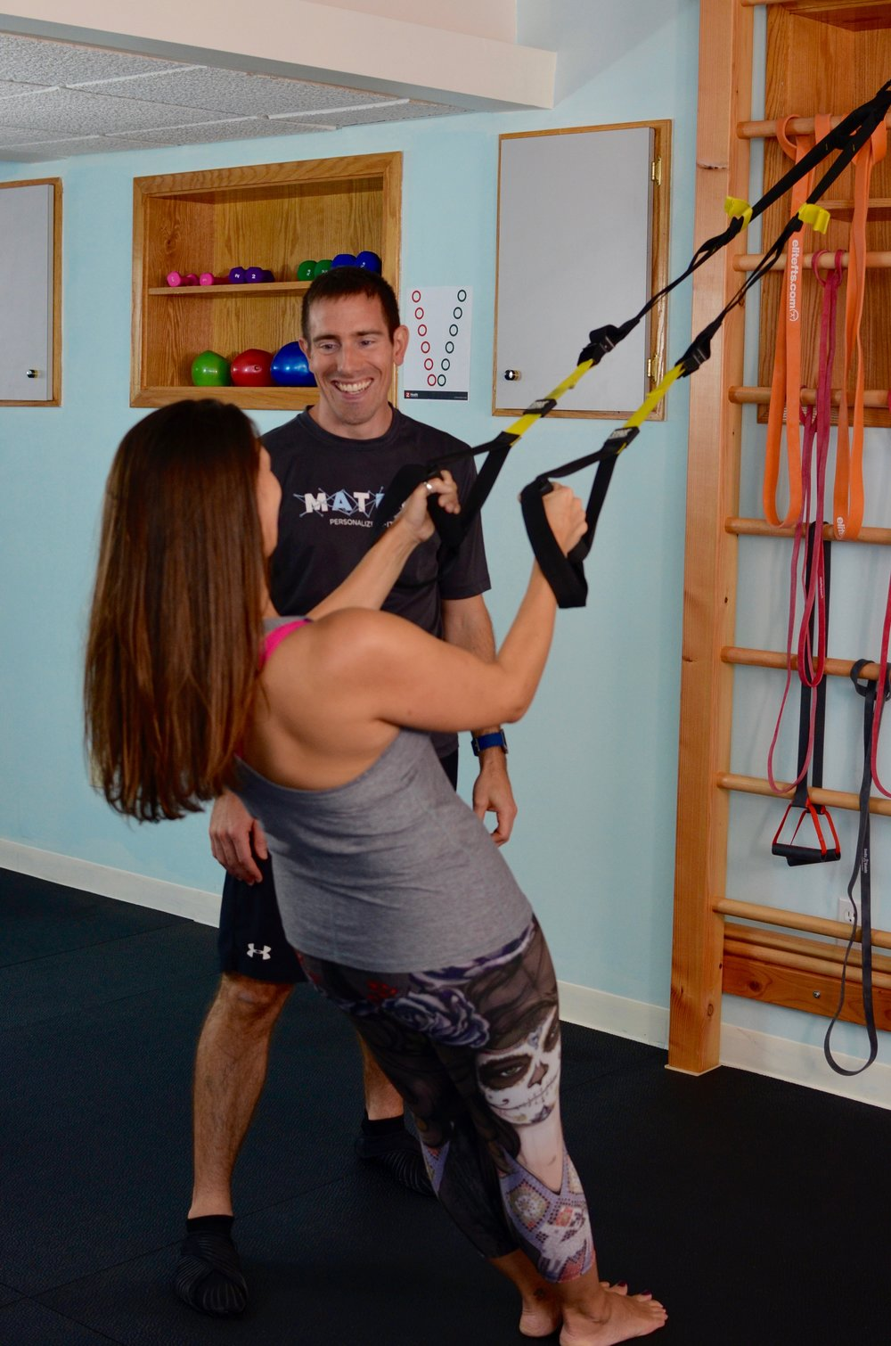 Matrix Personalized Fitness in East Greenwich, RI offers one-on-one personal training geared to help get you out of pain.