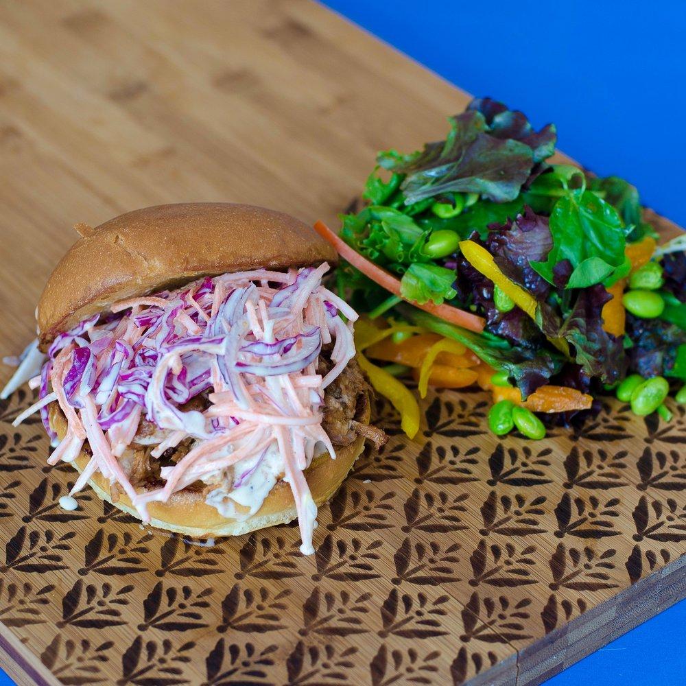 The Luau Pork Sandwich