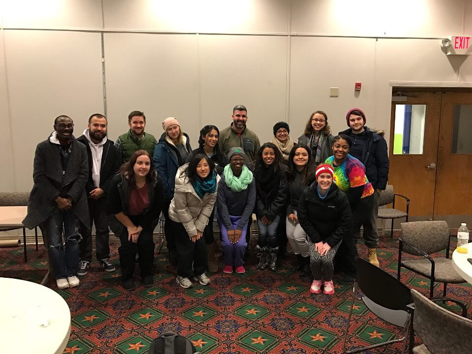 University of North Texas Alternative Spring Break group enjoyed their service trip.  AMP and Mission STL staff accompanied with them.