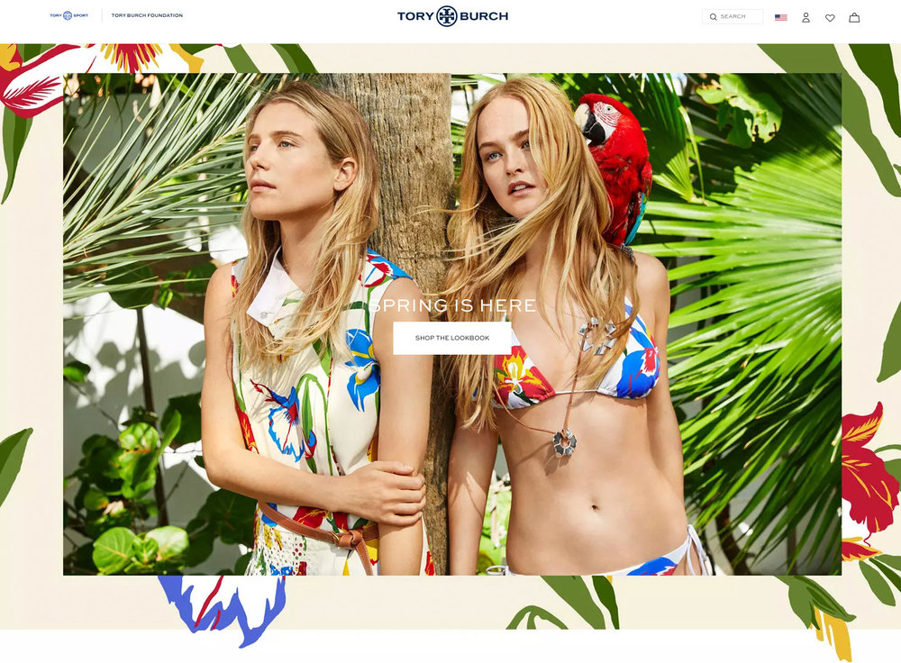 Dree Hemingway, Jean Campbell Tory Burch Website.  Photo: Lynda Churilla
