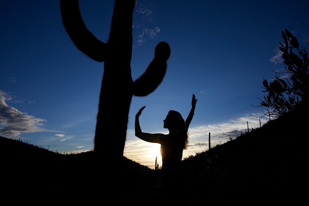 Saguaro Warrior Princess, Anuschka    Photo: Lynda Churilla