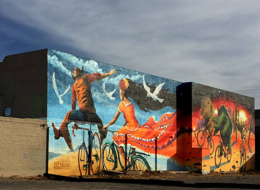 Joe Pagac Mural, Tucson    Photo: Lynda Churilla