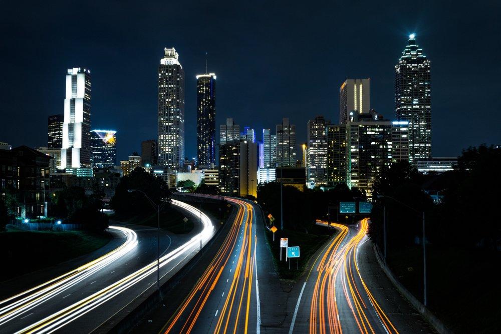 Jackson Street Bridge, Atlanta (@jtkyber1)