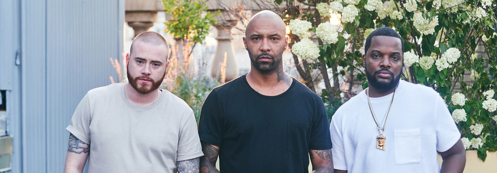 Mal, Joe, and Rory of  The Joe Budden Podcast  (@Spotify)