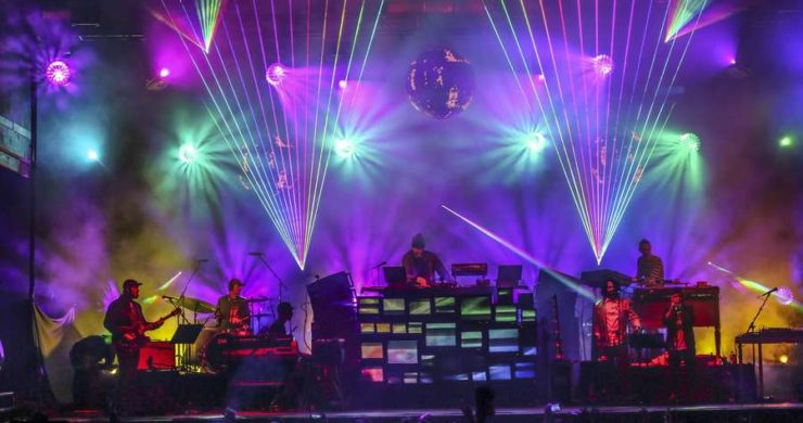 The Pretty Lights Analog Future Band, New Orleans (@liveforlivemusic)