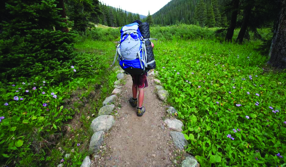Backpacking Lost Man (Neil Beidleman photo)