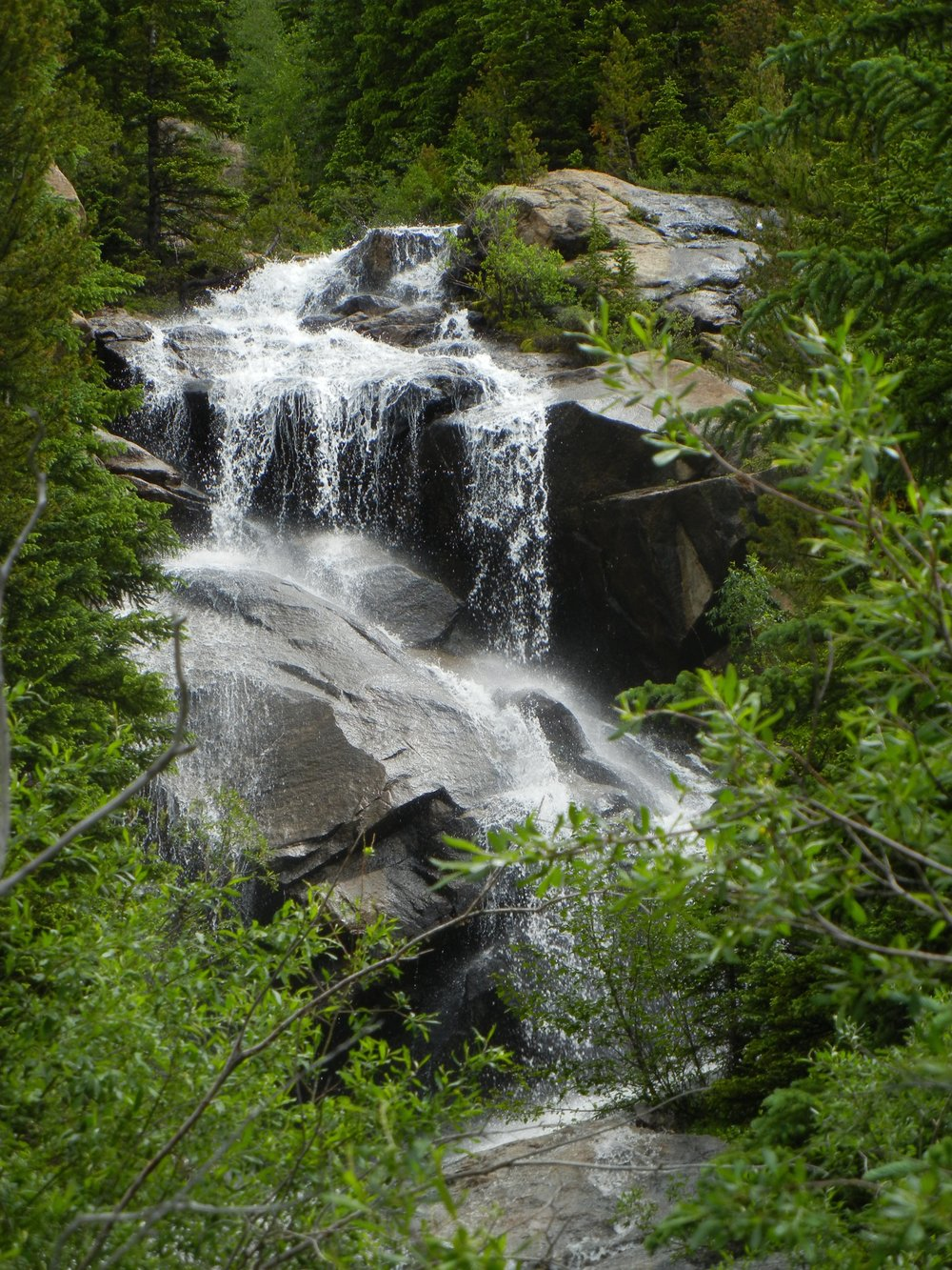 Waterfall near Mile Marker 53