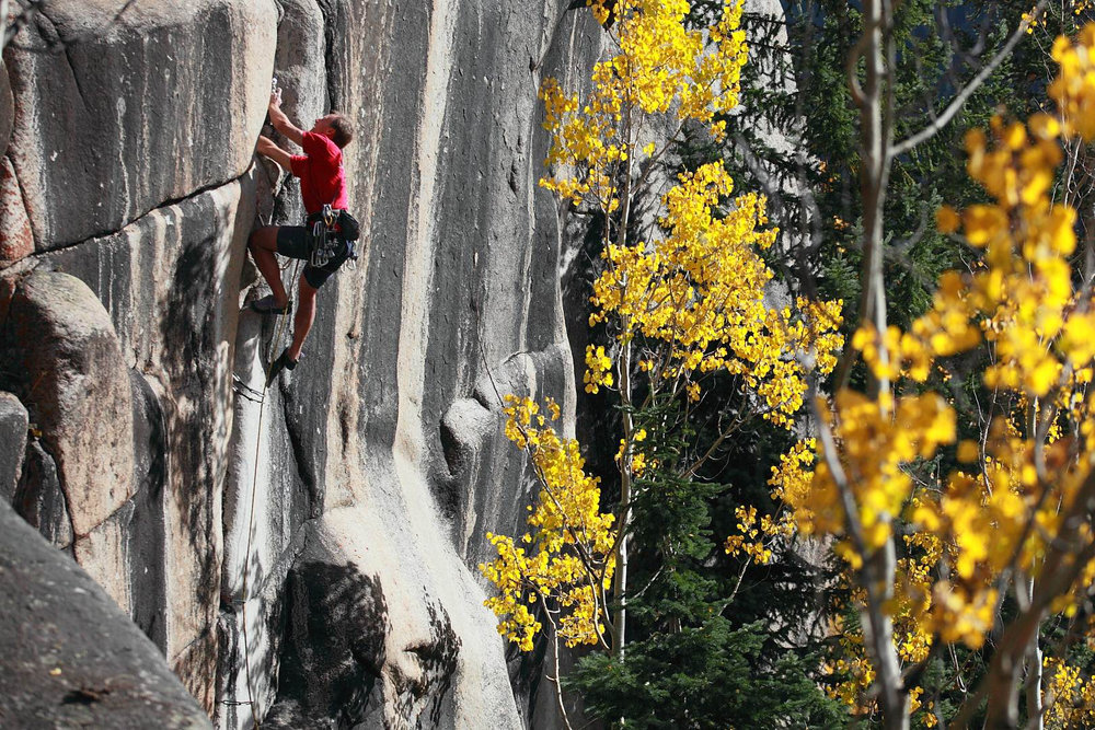 Rock climbing Outrageous Overhangs
