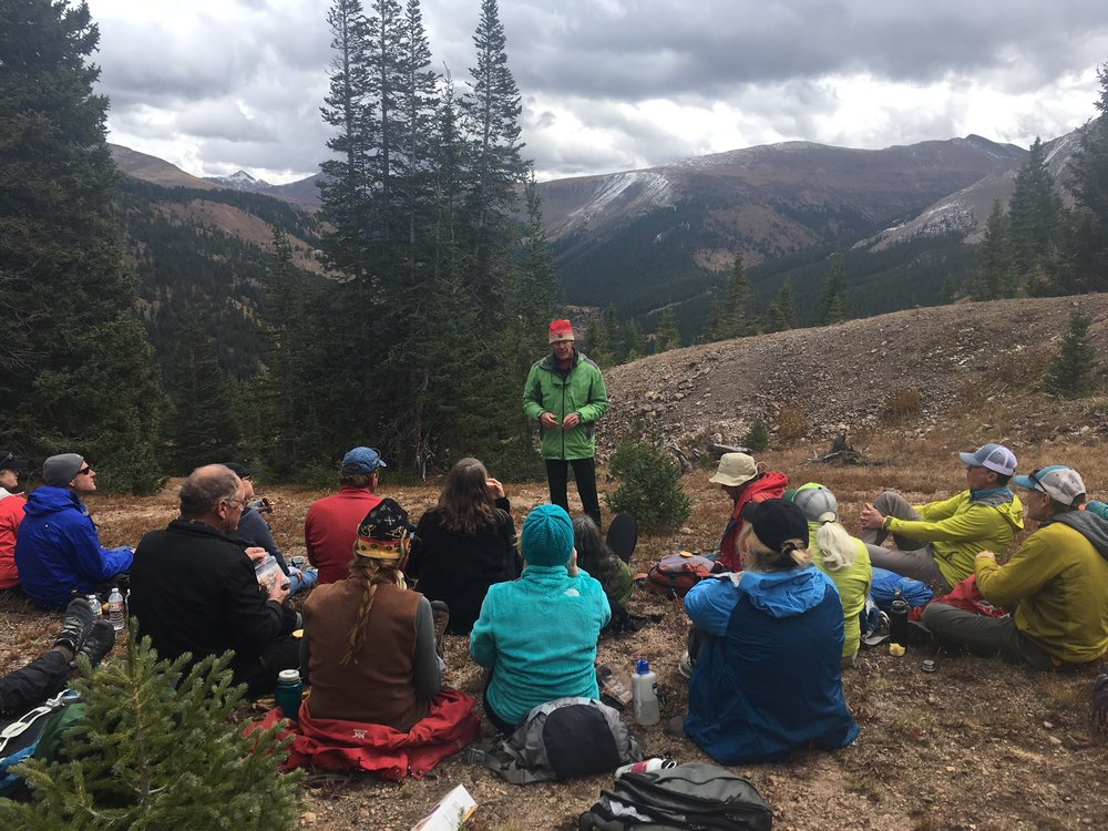 The Independence Pass Foundation and the Wilderness Land Trust hosted a joint celebration at the site this fall.