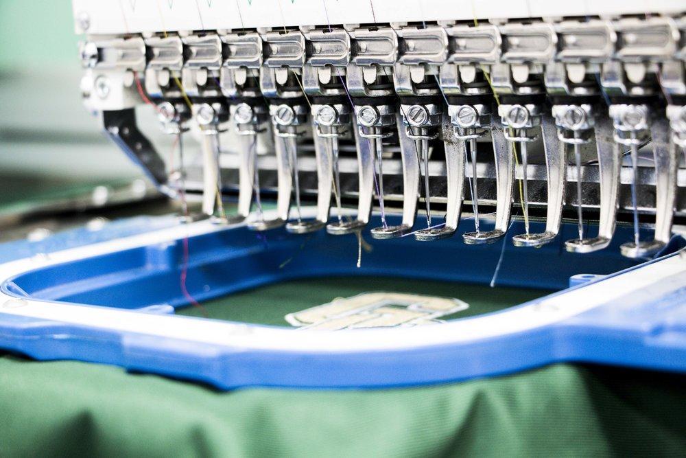 Single Embroidery Machine