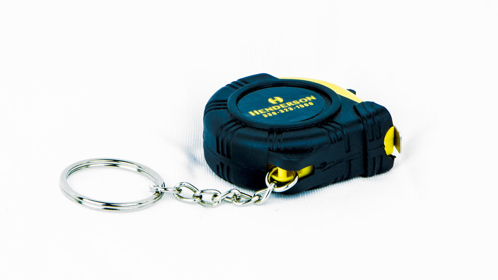Mini Keychain Tape Measure