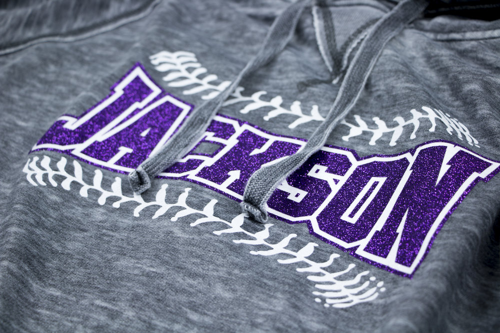 Jackson Baseball Mom Hoodie Heat Press Close Angle.jpg