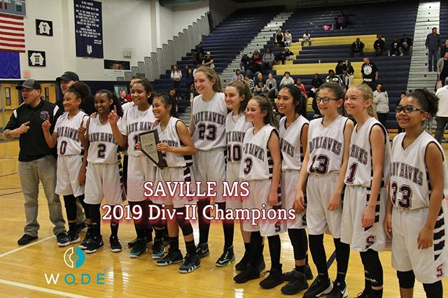 Congrats to Saville Girl's MS Team for winning the CCSD DIV-II Championship‼️ #ALLin . . .  @wodescouts @wodemixtapes @wodemotivator