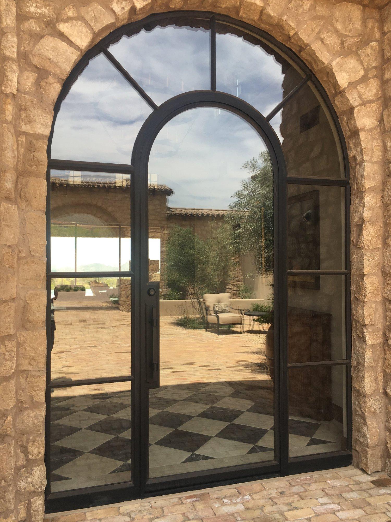 Steel And Glass Colletti Design
