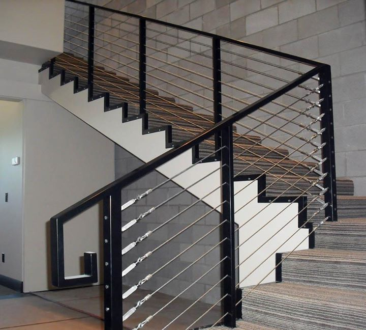 CONTEMPORARY STEEL RAILING 1