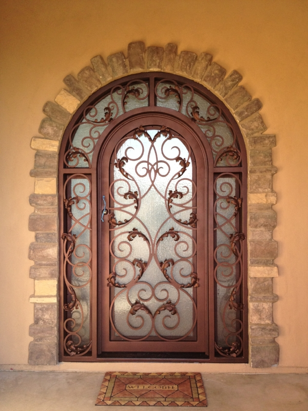 OLD WORLD IRON DOOR 16