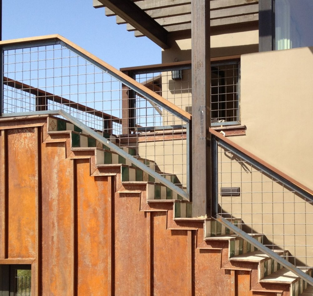 CONTEMPORARY STEEL RAILING 6
