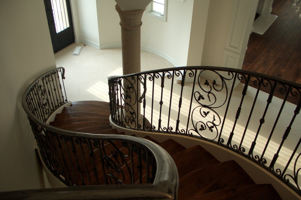 OLD WORLD IRON RAILING 6