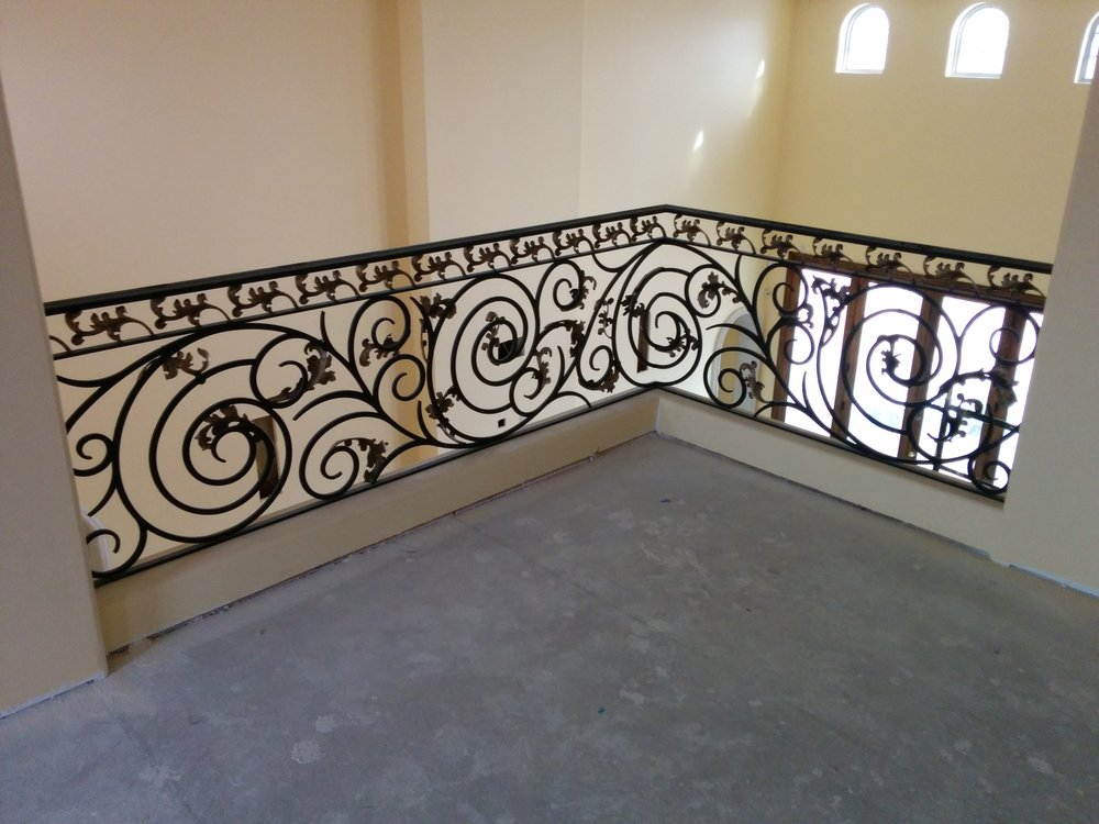 OLD WORLD IRON RAILING 13