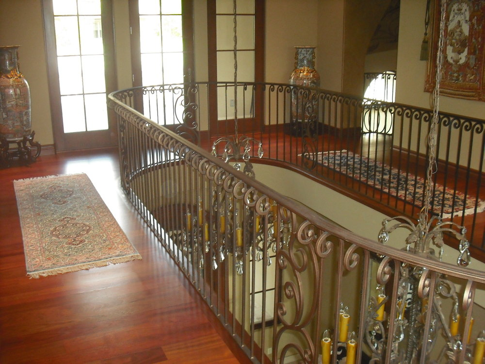 OLD WORLD IRON RAILING 16
