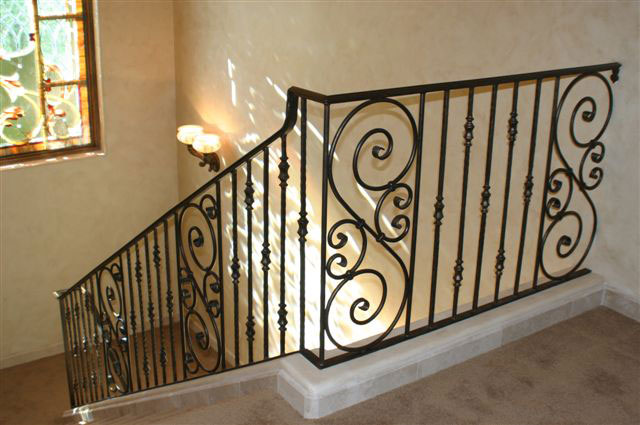 OLD WORLD IRON RAILING 15