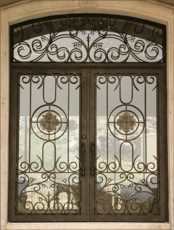 OLD WORLD IRON DOOR 12
