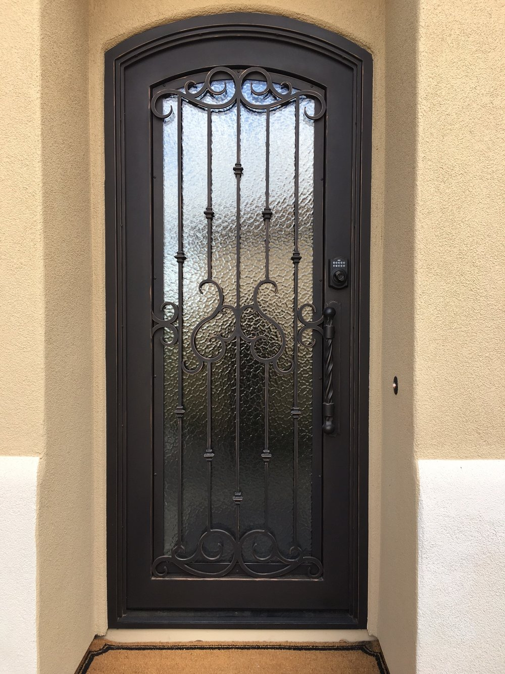 OLD WORLD IRON DOOR 25