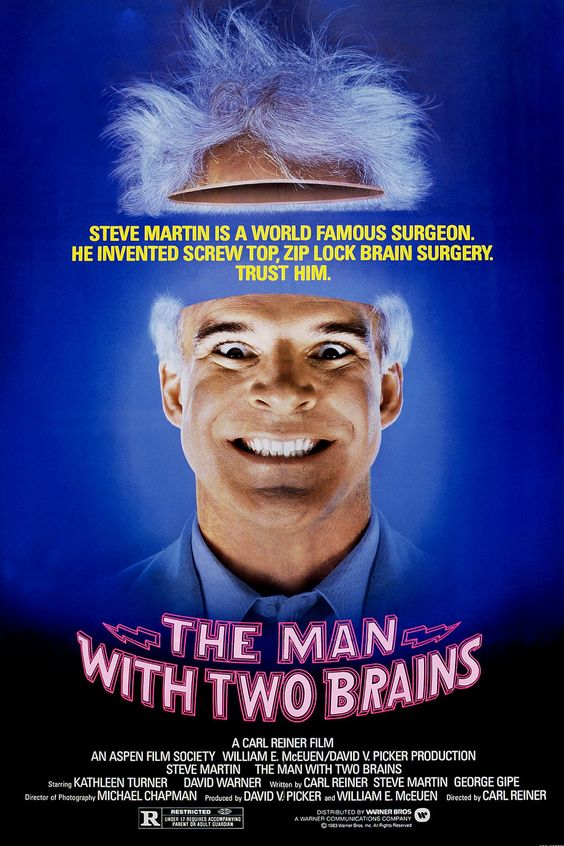 The Man With Two Brains, 1983