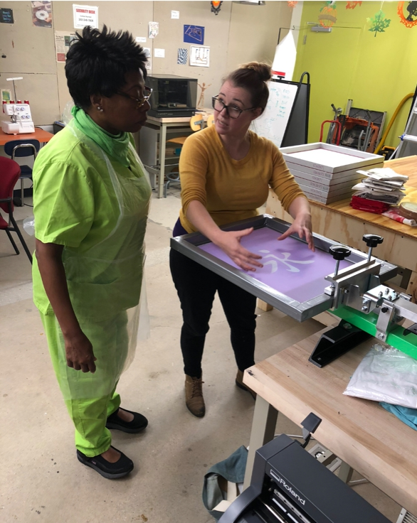 Workshops - Choose a workshop to learn how to use one of the specialized resources available through NonStop Art. Using instructor-led projects, each workshop focuses on a piece of equipment and how to safely and competently use it.Register Here