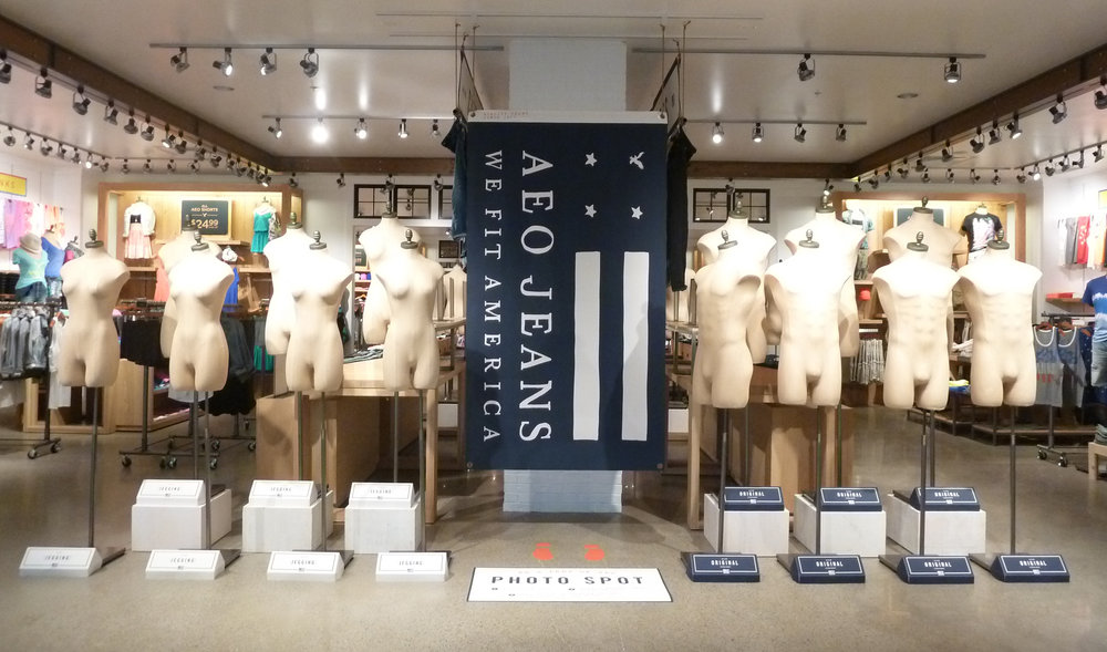 American Eagle Outfitters -   Conceptual Design and Display