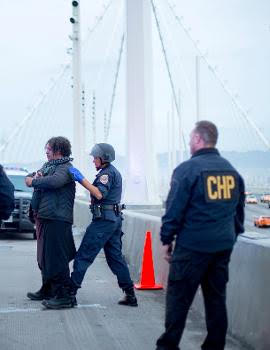Bay Bridge shut down action to reclaim Martin Luther King's radical legacy in January 2016