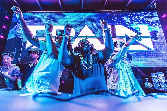 that time Waka and T-Pain crashed a Marshmello concert