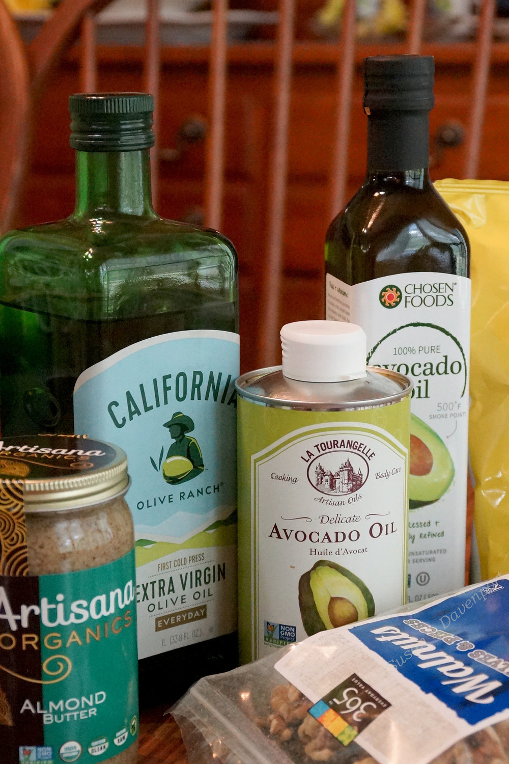 Healthy Oils and Fats - Photo by Susan L. Davenport