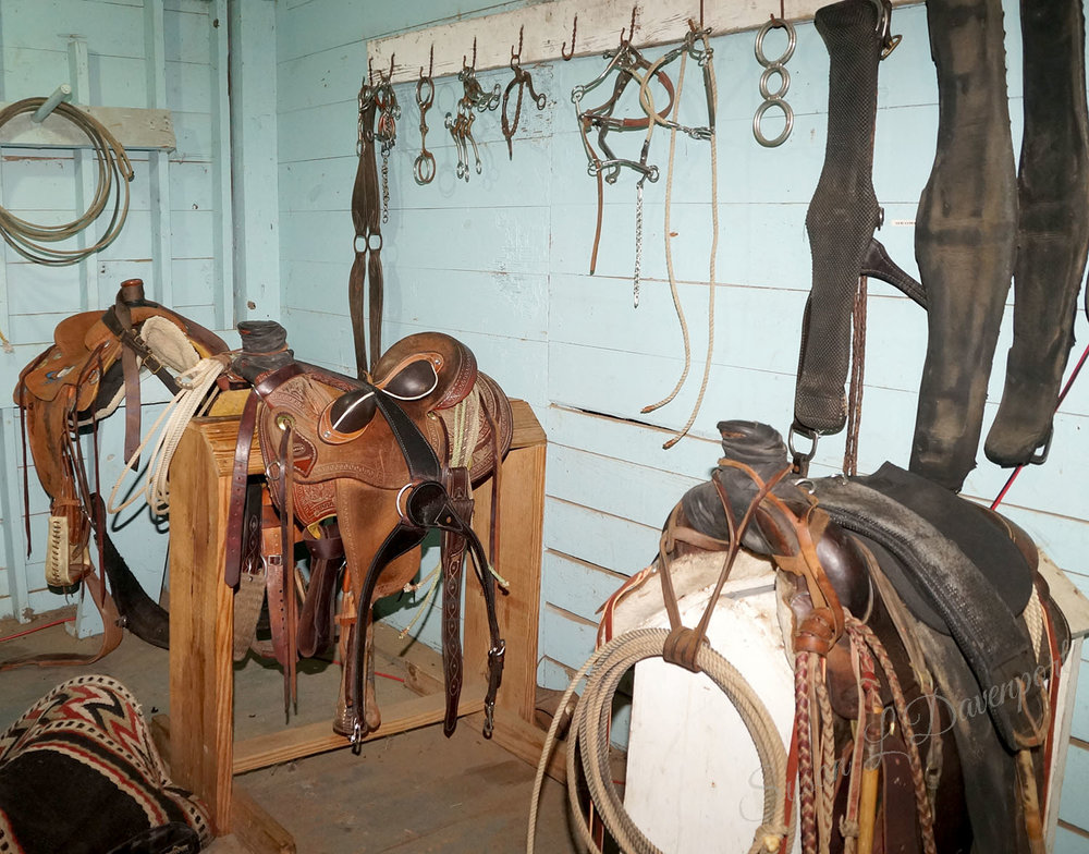 Tack Room at George Ranch Historical Park - Photo by Susan L. Davenport