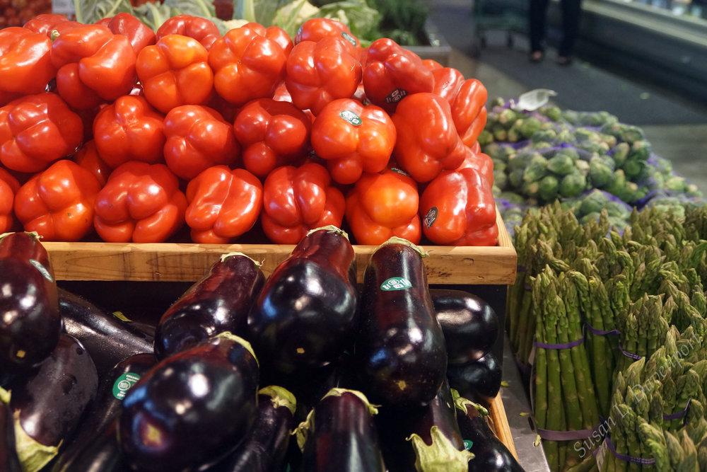 different colors = different nutrients - photo by susan L. davenport