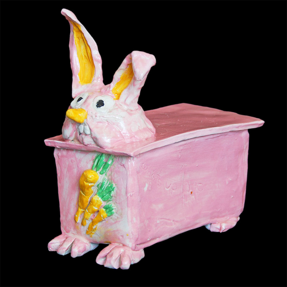 Bunny Box by Alyssa Hall. age 8