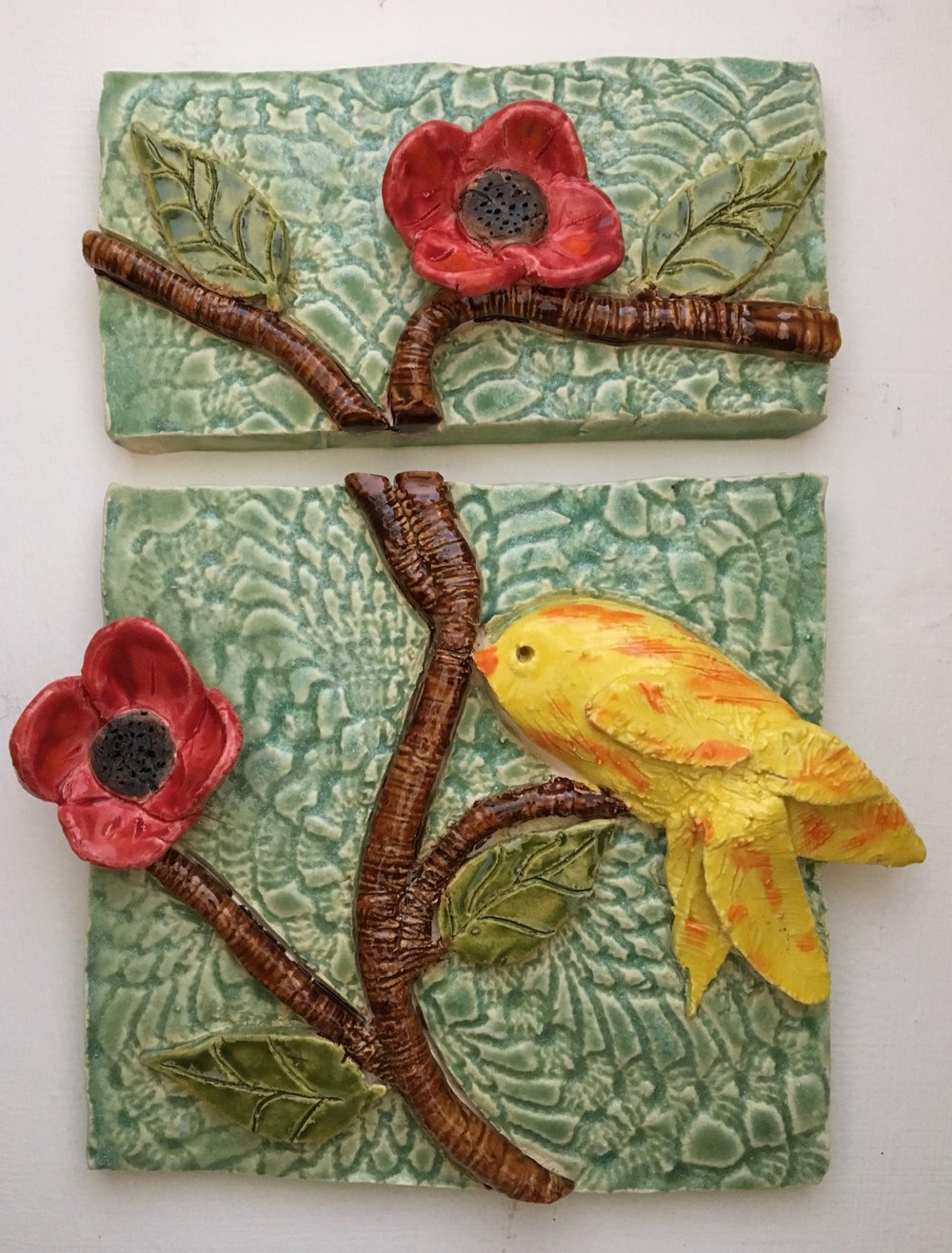 Wall tile by Amanda Baltazar