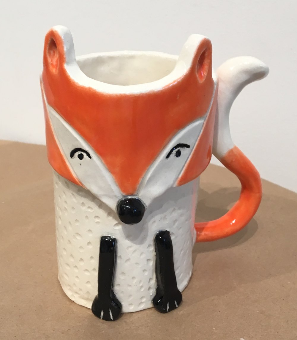 Fox Mug by Beck Ivie