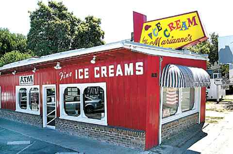 Marianne's Ice Cream is a local Santa Cruz favorite since 1947.