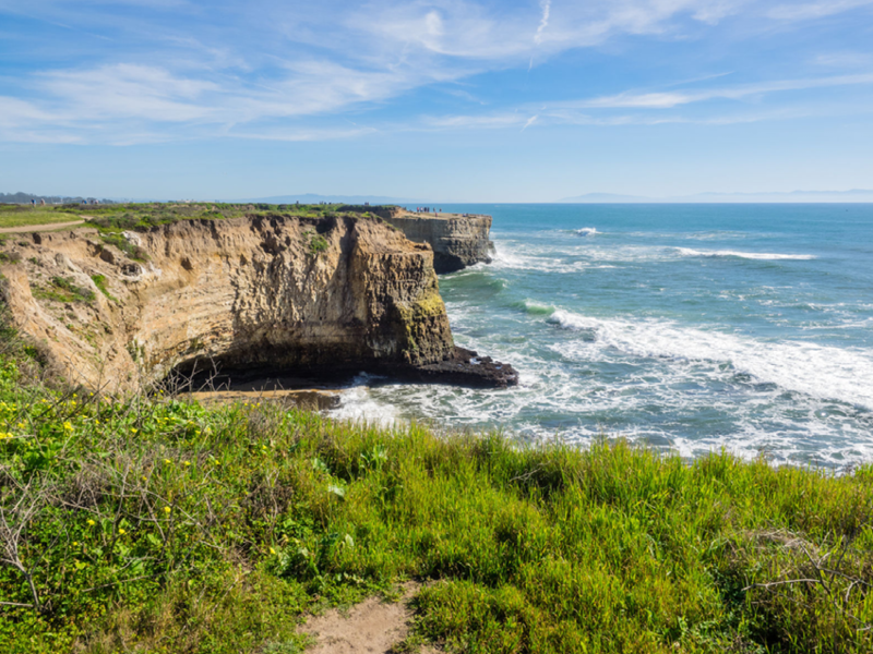 Hiking in Santa Cruz, CA – along seaside bluffs at Wilder Ranch State Park
