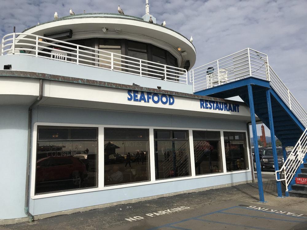 Stagnaro Bro's Seafood Restaurant Santa Cruz Wharf