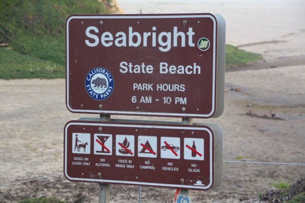 Welcome to Seabright State Beach, Santa Cruz