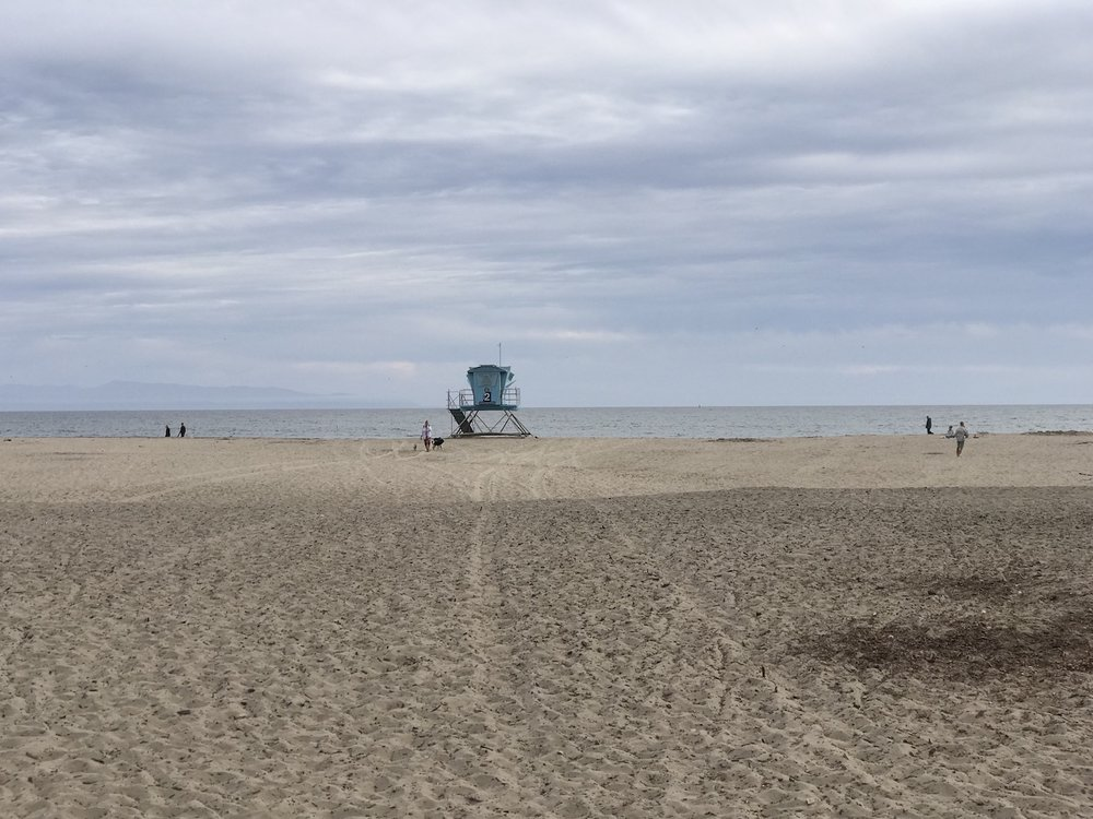 Autumn months bring mild temperatures and a wide open Seabright Beach.