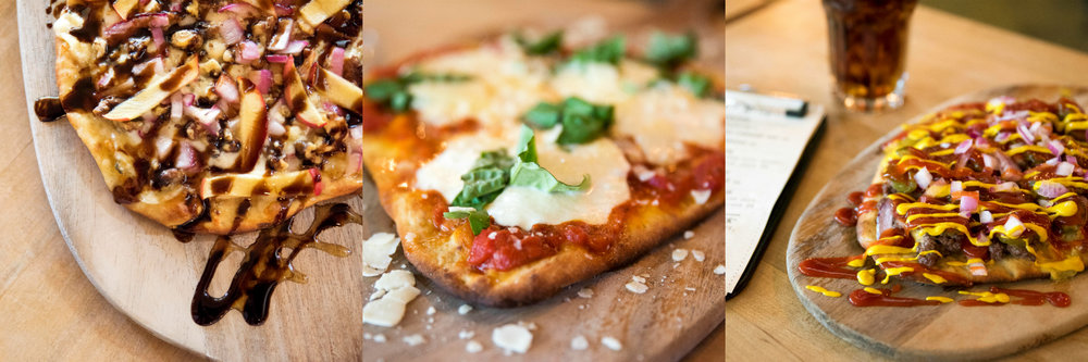 G+G's flatbreads might be the most talked about thing at G+G... - Better come try one