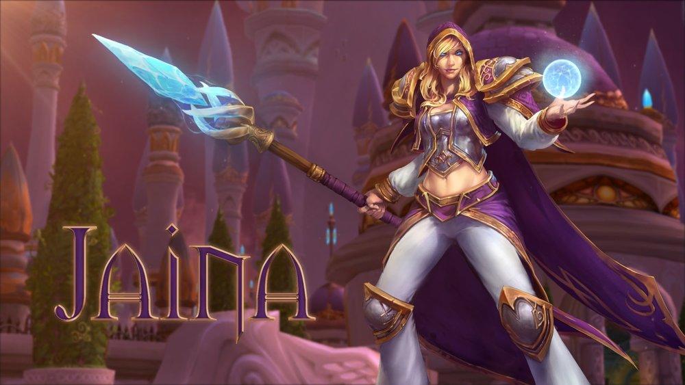 Jaina Proudmoore, frozen assassian of the Nexus
