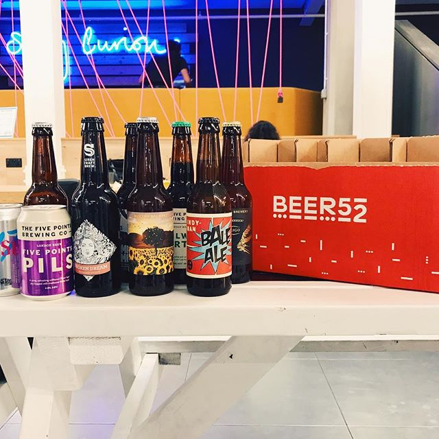 I got to tasty some pretty amazing beers from my @beer52hq subscription on Tuesday. Really great product.