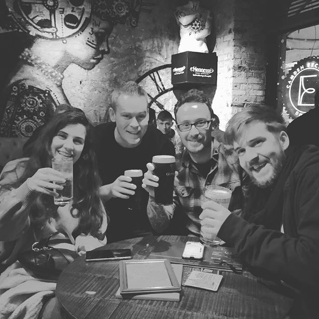 Great drinks with the @minicorp crew last night. We were missing @stebaps but looking forward to the Christmas party next weekend. #family #vibes #instagood #instalike #minicorp #beers #business #creators
